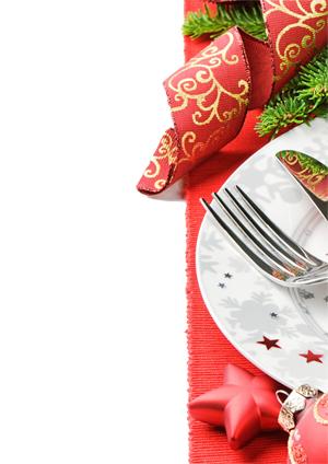 Speisekarte Weihnachten