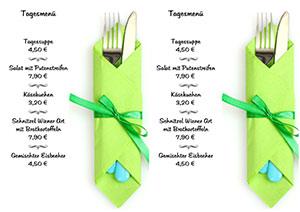 Speisekarten drucken Kostenlose Rezepte