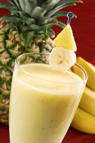rezept bananen ananas smoothie einfaches rezept mit bild. Black Bedroom Furniture Sets. Home Design Ideas