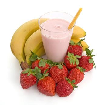 rezept erdbeer bananen smoothie einfaches rezept mit bild