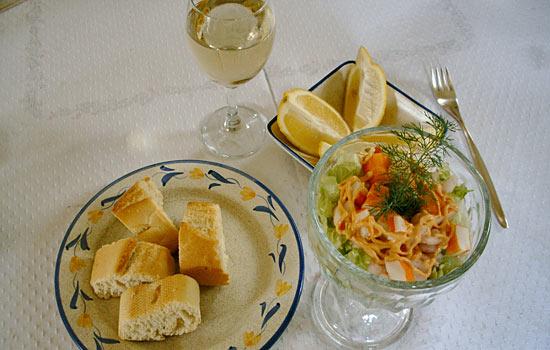 rezept garnelen salat mit muschelfleisch einfaches rezept mit bild. Black Bedroom Furniture Sets. Home Design Ideas