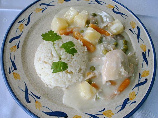 Rezept Omas Hühnerfrikassee Und Hühnersuppe Rezept Mit Bild